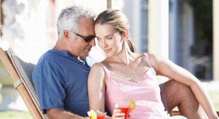 young dating older man